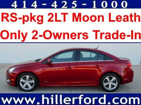 2012 Chevrolet Cruze for sale at HILLER FORD INC in Franklin WI