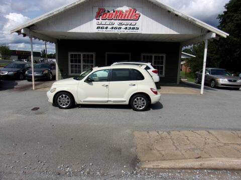 2006 Chrysler PT Cruiser for sale at Foothills Used Cars LLC in Campobello SC