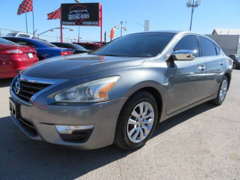 2015 Nissan Altima for sale at Moving Rides in El Paso TX