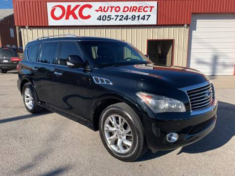 2012 Infiniti QX56 for sale at OKC Auto Direct in Oklahoma City OK