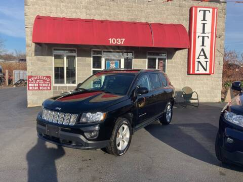 2016 Jeep Compass for sale at Titan Auto Sales LLC in Albany NY