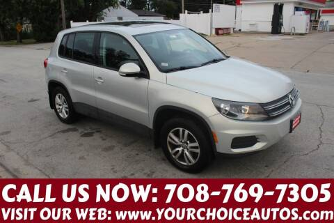2013 Volkswagen Tiguan for sale at Your Choice Autos in Posen IL