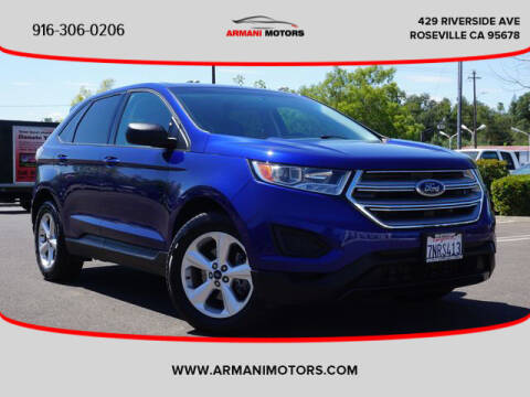 2015 Ford Edge for sale at Armani Motors in Roseville CA