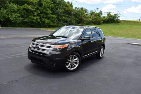 2014 Ford Explorer for sale at Alpha Motors in Knoxville TN