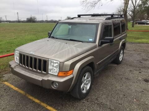 2006 Jeep Commander for sale at John 3:16 Motors in San Antonio TX