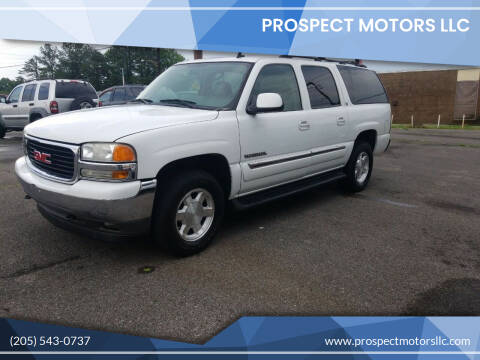 2006 GMC Yukon XL for sale at Prospect Motors LLC in Adamsville AL