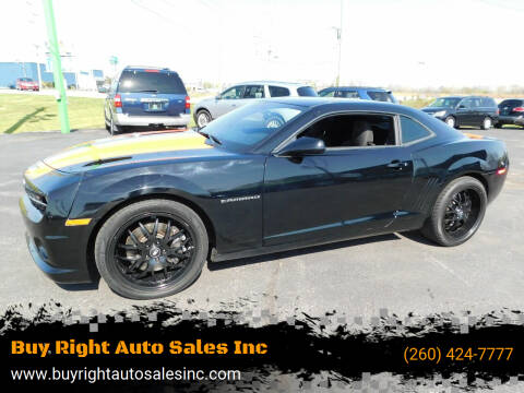 2011 Chevrolet Camaro for sale at Buy Right Auto Sales Inc in Fort Wayne IN