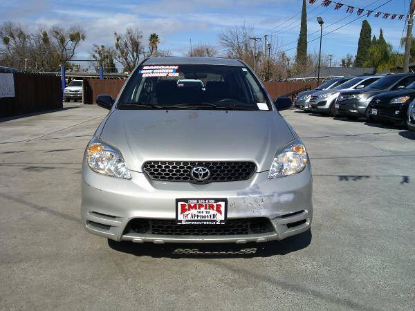 2003 Toyota Matrix for sale at Empire Auto Sales in Modesto CA