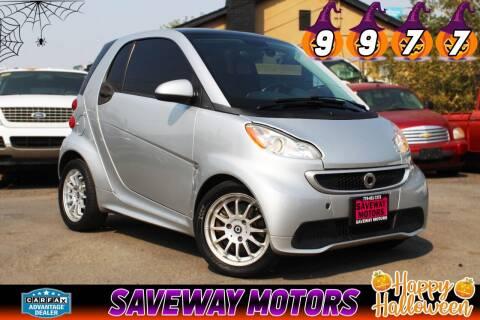 2013 Smart fortwo for sale at Saveway Motors in Reno NV