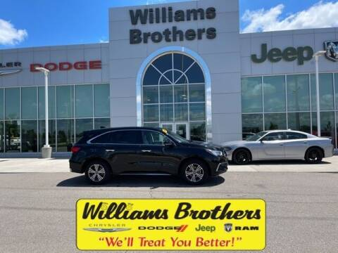2018 Acura MDX for sale at Williams Brothers - Pre-Owned Monroe in Monroe MI