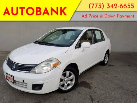 2007 Nissan Versa for sale at AutoBank in Chicago IL