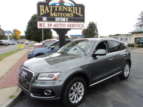 2016 Audi Q5 for sale at BATTENKILL MOTORS in Greenwich NY