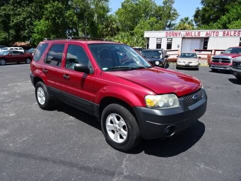 2005 Ford Escape for sale at DONNY MILLS AUTO SALES in Largo FL