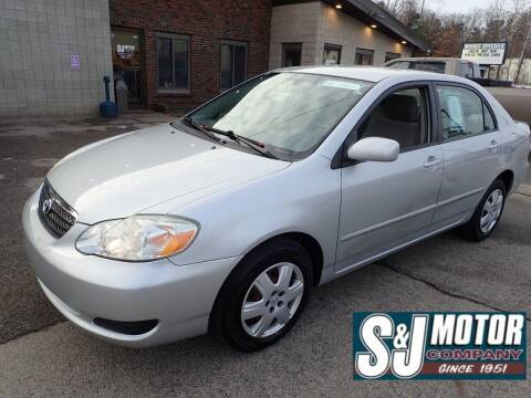 2005 Toyota Corolla for sale at S & J Motor Co Inc. in Merrimack NH