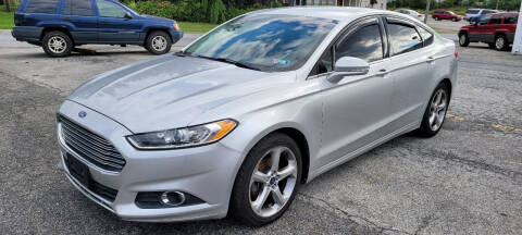 2013 Ford Fusion for sale at WEELZ in New Castle DE