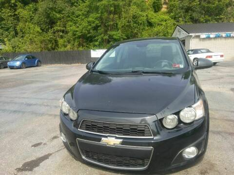 2013 Chevrolet Sonic for sale at Riverside Auto Sales in Saint Albans WV