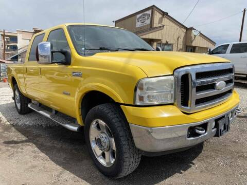 2006 Ford F-250 Super Duty for sale at BERKENKOTTER MOTORS in Brighton CO