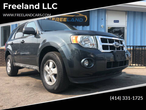 2009 Ford Escape for sale at Freeland LLC in Waukesha WI