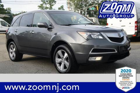 2012 Acura MDX for sale at Zoom Auto Group in Parsippany NJ
