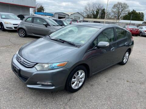 2010 Honda Insight for sale at Premium Auto Brokers in Virginia Beach VA