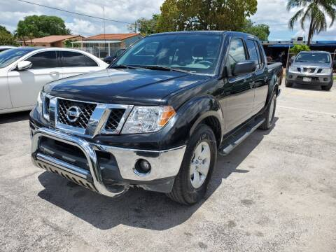 2010 Nissan Frontier for sale at A Group Auto Brokers LLc in Opa-Locka FL