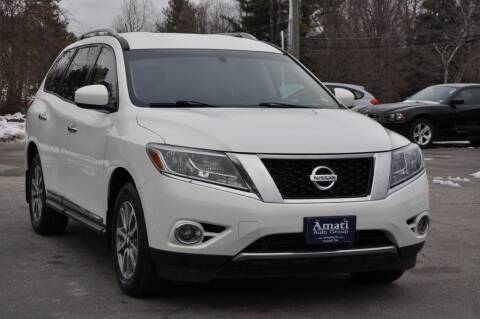 2014 Nissan Pathfinder for sale at Amati Auto Group in Hooksett NH