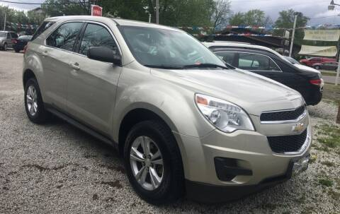 2013 Chevrolet Equinox for sale at Antique Motors in Plymouth IN