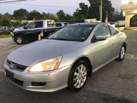 2006 Honda Accord for sale at Mega Autosports in Chesapeake VA