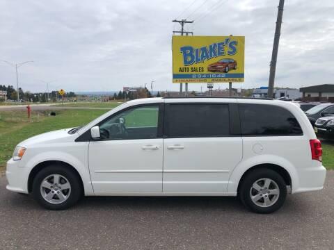 2013 Dodge Grand Caravan for sale at Blake's Auto Sales in Rice Lake WI