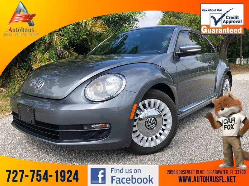 2014 Volkswagen Beetle for sale at Das Autohaus Quality Used Cars in Clearwater FL