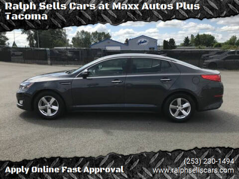 2015 Kia Optima for sale at Ralph Sells Cars at Maxx Autos Plus Tacoma in Tacoma WA
