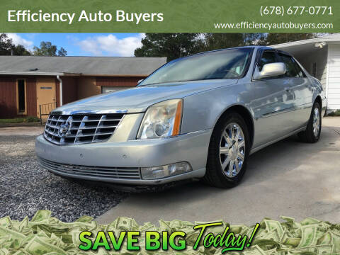 2006 Cadillac DTS for sale at Efficiency Auto Buyers in Milton GA