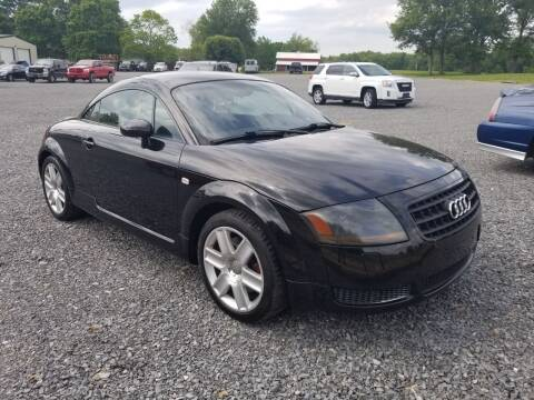2003 Audi TT for sale at Ridgeway's Auto Sales - Buy Here Pay Here in West Frankfort IL