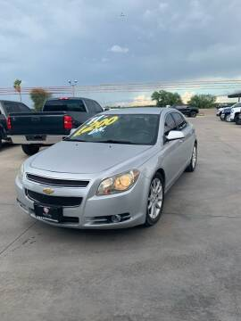 2011 Chevrolet Malibu for sale at A & V MOTORS in Hidalgo TX