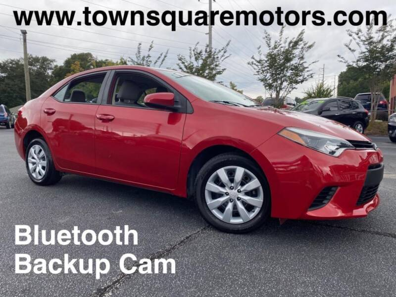 2014 Toyota Corolla for sale at Town Square Motors in Lawrenceville GA