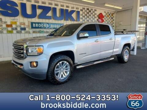 2017 GMC Canyon for sale at BROOKS BIDDLE AUTOMOTIVE in Bothell WA