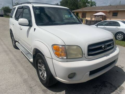 2003 Toyota Sequoia for sale at Eden Cars Inc in Hollywood FL