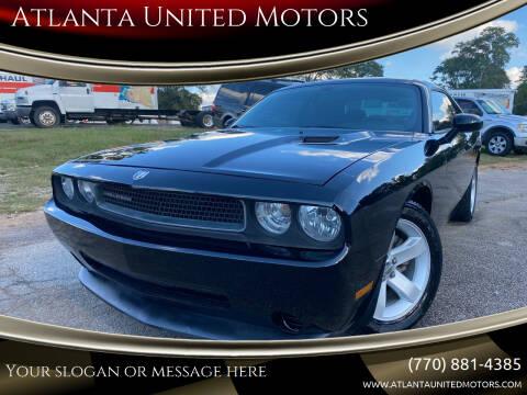 2012 Dodge Challenger for sale at Atlanta United Motors in Jefferson GA