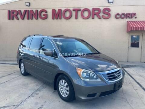 2010 Honda Odyssey for sale at Irving Motors Corp in San Antonio TX