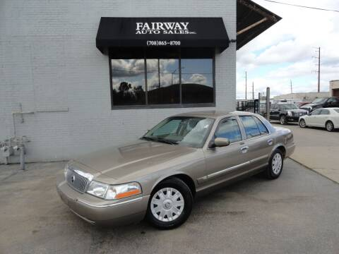 2004 Mercury Grand Marquis for sale at FAIRWAY AUTO SALES, INC. in Melrose Park IL
