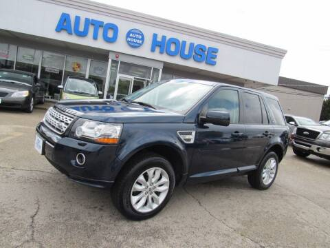 2013 Land Rover LR2 for sale at Auto House Motors in Downers Grove IL
