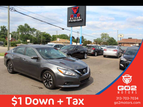 2018 Nissan Altima for sale at Go2Motors in Redford MI