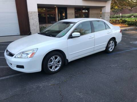 2007 Honda Accord for sale at Inland Valley Auto in Upland CA