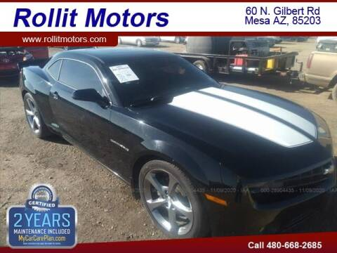 2013 Chevrolet Camaro for sale at Rollit Motors in Mesa AZ
