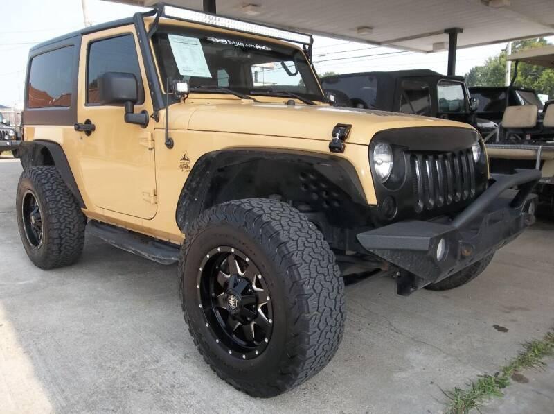 2014 Jeep Wrangler for sale at Broken Arrow Motor Co in Broken Arrow OK