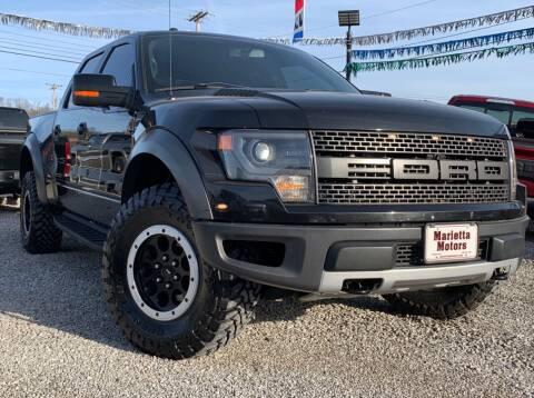 2013 Ford F-150 for sale at MARIETTA MOTORS LLC in Marietta OH