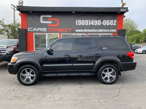 2005 Toyota Sequoia for sale at Cars Direct in Ontario CA