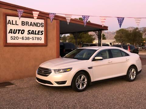 2015 Ford Taurus for sale at All Brands Auto Sales in Tucson AZ