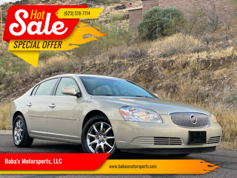 2007 Buick Lucerne for sale at Baba's Motorsports, LLC in Phoenix AZ