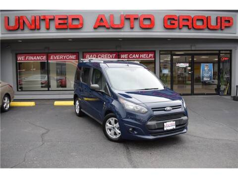 2014 Ford Transit Connect Wagon for sale at United Auto Group in Putnam CT